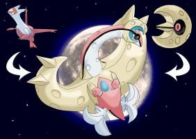 Latias and Lunatone fusion