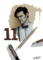The 11th Doctor Who by Pilgrimwanders
