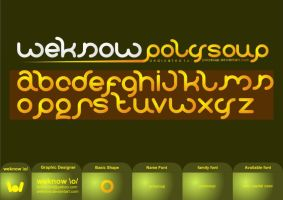 polysoupfont_byweknow by weknow