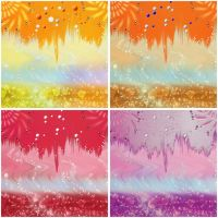 4 Color Backgrounds by allison731