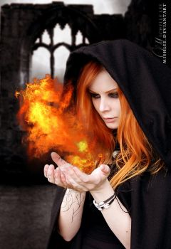 Child of Fire by mishlee