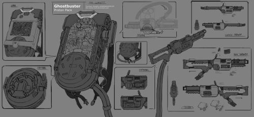 New Ghostbusters  Proton Pack (Fan Concept) by Loone-Wolf