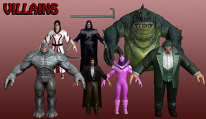 Villains Marvel Heroes XNALara 1 by Xelandis