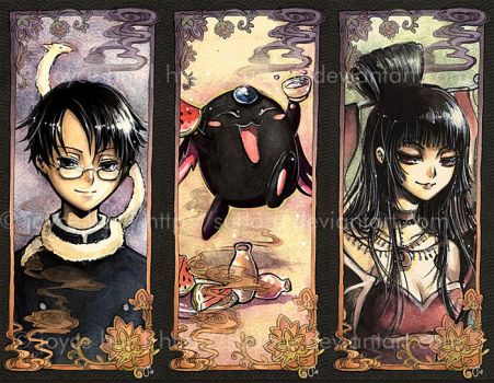 - xxxHOLiC bookmarks - by sudoru