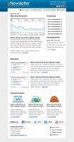 email newsletter template by xstortionist