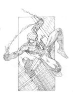 Spider-man Pencils by ParisAlleyne