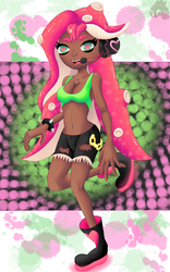 Olivia the Octoling by GloryKittyChan