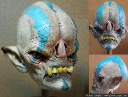 Alien Head finished by glaucolonghi