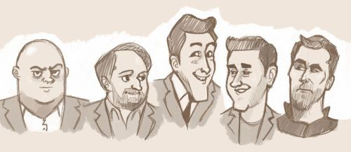 Comedian Sketches by Pseudolonewolf