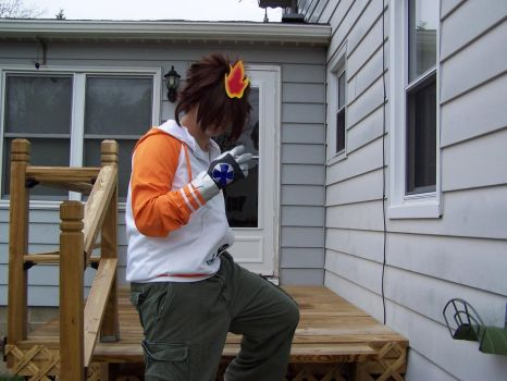 Tsuna Cosplay WIP by SDF-RickHunter