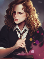 Hermione by cosmogirll