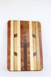 Chevron Cutting Board by JThomastheartist13