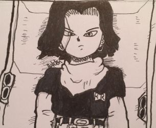 Android 17 Rises... by Axyclean04