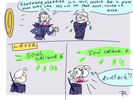 The Witcher 3, doodles 299 by Ayej