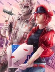 Cells at Work by Mimibert