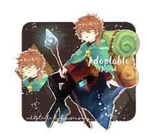 [OPEN!] Adoptable auction: The Wizard Boy! by Hirusansan