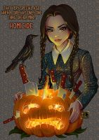 Wednesday Addams - Homicide by Teo-Hoble