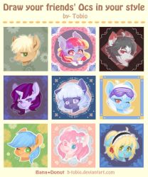 Draw your friends'OCs in your style (Only Pony) by B-TOBIO