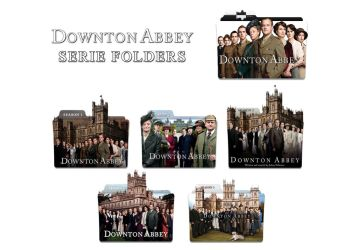 Downtown Abbey SERIE FOLDERS by OrlaneF