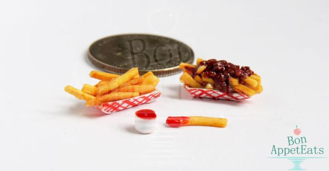 1:12 French Fries and Chili Fries by Bon-AppetEats