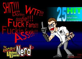 Angry Video Game Nerd by Bakem0n0