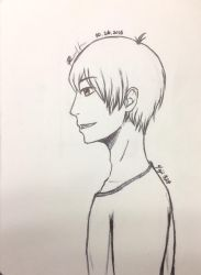 Profile Drawing Attempt by Yeji412