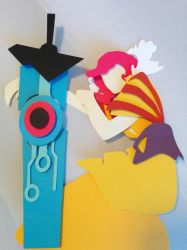 Transistor Papercut by smallrinilady