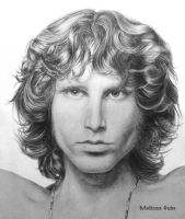 Jim Morrison by Mguin
