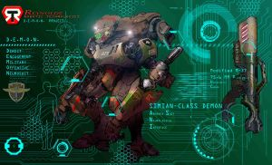 REYNOLDS Robotics D.E.M.O.N.  Project - SIMIAN by Katase6626