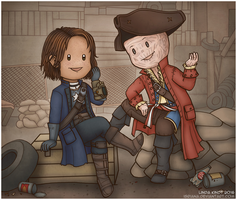 Prize Commission: Charlotte And Hancock by Isriana