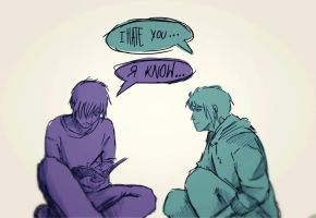 I know... by SociopathDemon
