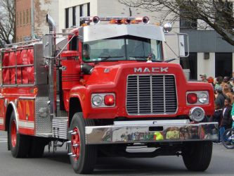 West Hurley Fire Dept Mack R Tanker by Tracksidegorilla1