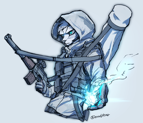Cold fire by oLEEDUEOLo