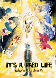 It's A Hard Life: Chapter XIII: Cover by Qlockwork-II