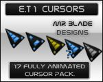 E.T 1 Cursors by Mr-Blade