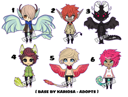 Humanoid Adoptables Auction - CLOSED by Vesu-Adopts