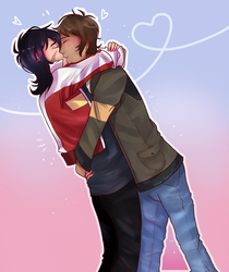 Klance collab with Silver_Seore!! by Emselada