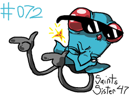 #072 Tentacool by SaintsSister47
