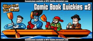 AT4W: Comic Book Quickies #2 by DrCrafty