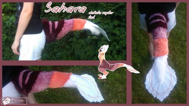 Sahara - raptor tail by HellCharm