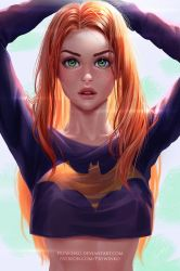 Batgirl (without mask) by Prywinko