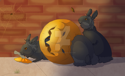 Halloween Leftovers by TheVerdantHare