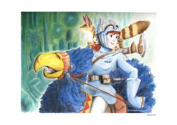 Nausicaa of the Valley of the Wind by Malaurielle