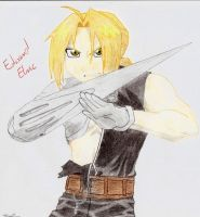 Edward Elric by Nirindel