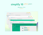 Simplify 10 Yellow Green - Windows 10 Themes by dpcdpc11