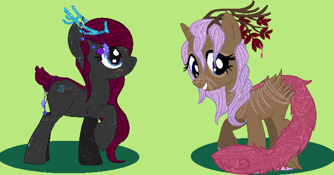 Two Pony Adopts- CLOSED by DoodleBug-Adoptable