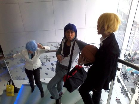 KnB - Bishonen at the stairs by emperor-angelo-xxv