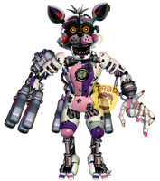 Scrap Foxy by TheRealBoredDrawer