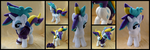 Punk Rarity Plush by Memes-tyan