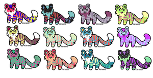 = Cheap Tiger Adopts - OPEN = by MissionAdopts